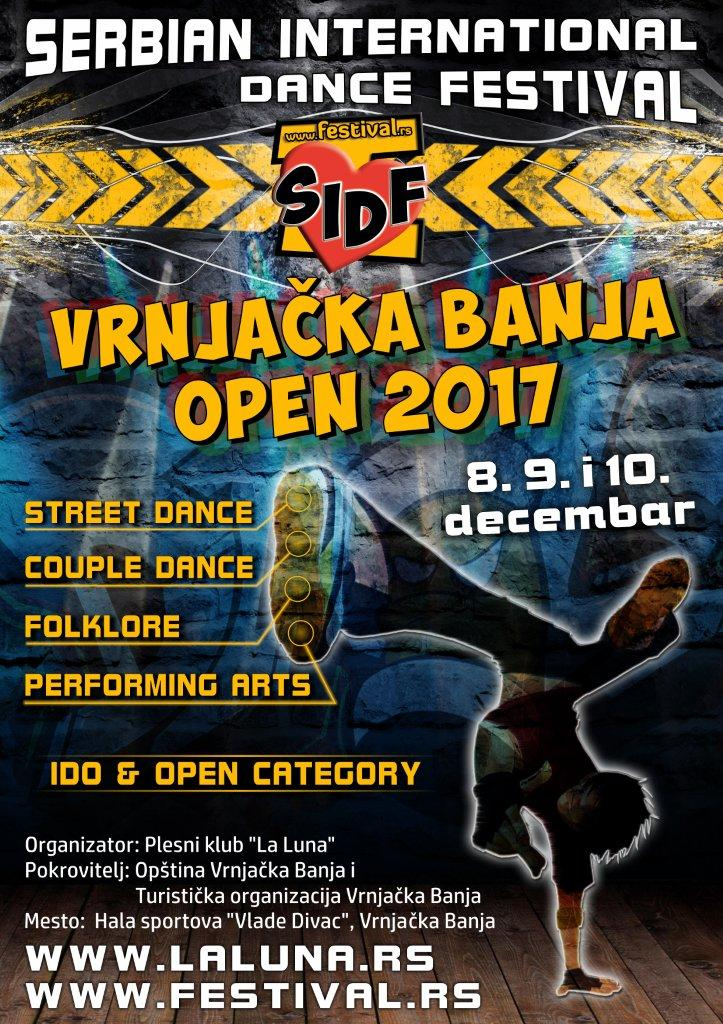 SERBIAN INTERNATIONAL DANCE FESTIVAL-VRNJAČKA BANJA OPEN-8/9/10.DECEMBAR.2017.