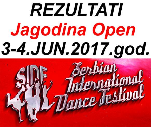 Rezultati Jagodina Open – 3-4.jun.2017.god.